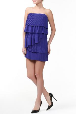 Платье CAMILLA AND MARC. Цвет: голубой