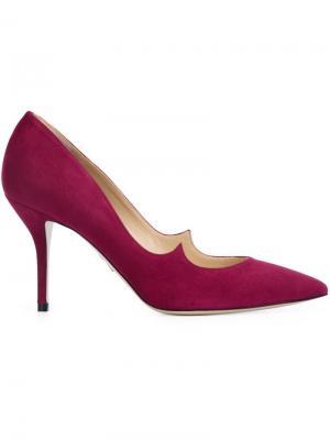 Туфли Kimura Paul Andrew. Цвет: розовый и фиолетовый