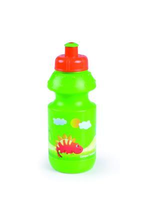 Поильник 360 мл 4/113 Canpol babies. Цвет: зеленый, оранжевый