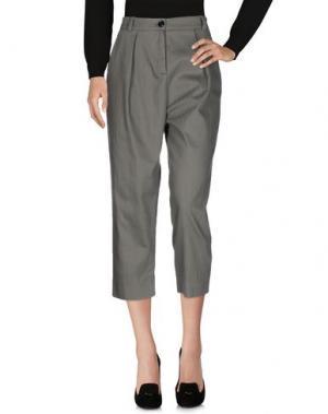 Повседневные брюки AM. Цвет: серый
