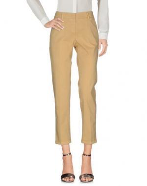 Повседневные брюки ARGONNE. Цвет: охра