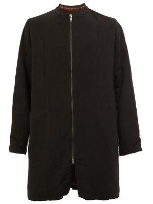 Пальто на молнии By Walid. Цвет: чёрный