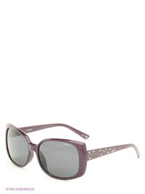 Солнцезащитные очки Polaroid. Цвет: фиолетовый, синий