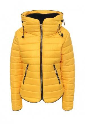 Куртка утепленная Edge Street. Цвет: желтый