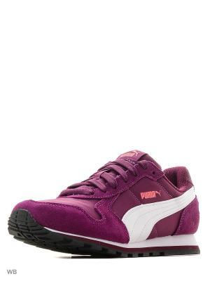 Кроссовки ST Runner NL PUMA. Цвет: темно-фиолетовый