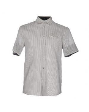 Pубашка COSTUME NATIONAL HOMME. Цвет: светло-серый