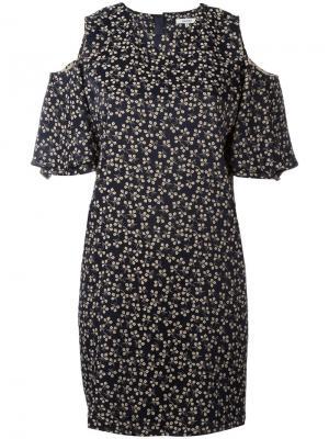 Платье Total Eclipse Ganni. Цвет: чёрный