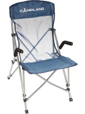 Кресло складное ЭЛИТ Campland. Цвет: синий
