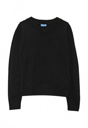 Пуловер Button Blue. Цвет: черный