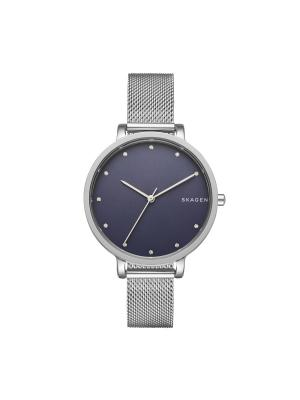 Часы SKAGEN. Цвет: темно-синий, серебристый