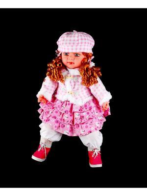 Кукла интерактивная Natali Kovaltseva. Цвет: белый, розовый