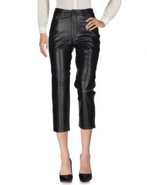 Повседневные брюки WON HUNDRED. Цвет: черный