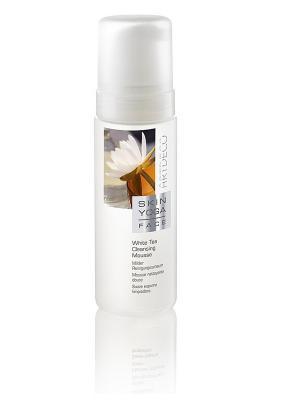 Пенка для умывания с экстрактом белого чаяWhite Tea Cleansing Mousse, 150мл ARTDECO. Цвет: белый