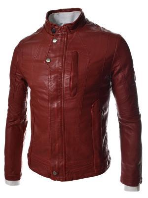 Куртка VipDressCode. Цвет: красный
