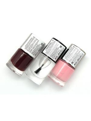 Промо-набор POETEQ. Цвет: розовый, бежевый, бордовый