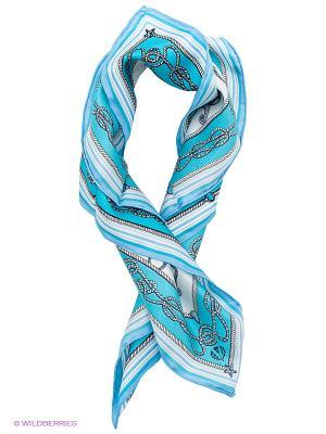 Платок FRAAS. Цвет: бирюзовый, белый, голубой