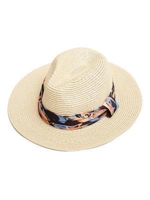 Шляпа Kameo-bis. Цвет: бежевый, оранжевый, голубой