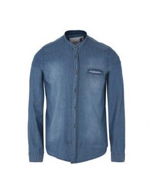 Джинсовая рубашка 8. Цвет: синий