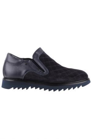 Ботинки Gianfranco Butteri. Цвет: темно-синий