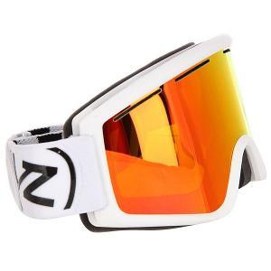 Маска для сноуборда  Cleaver White/Fire Chrome Von Zipper. Цвет: белый
