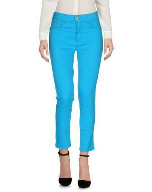 Повседневные брюки MARANI JEANS. Цвет: бирюзовый