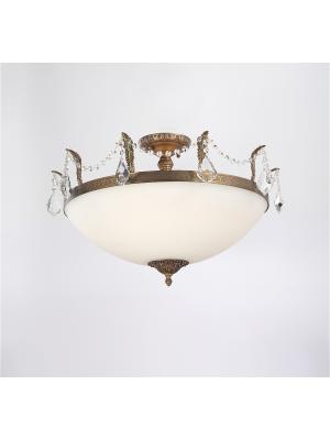 Люстра BARLETTA 182.10 D720 antique Lucia Tucci. Цвет: бронзовый, светло-коричневый