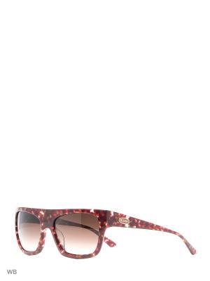 Солнцезащитные очки MI 758 04 Missoni. Цвет: бордовый
