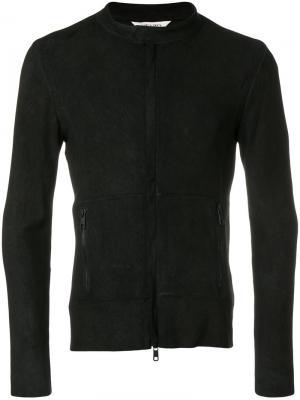 Куртка в байкерском стиле Giorgio Brato. Цвет: чёрный