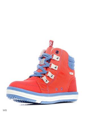 Ботинки Reima. Цвет: синий, красный