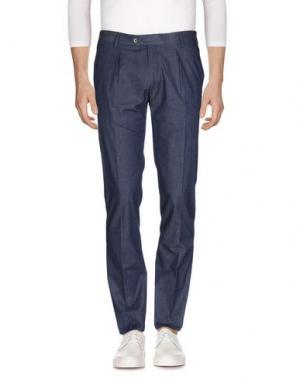 Джинсовые брюки MAESTRAMI. Цвет: грифельно-синий