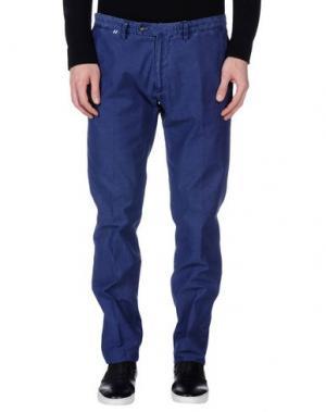 Повседневные брюки JEY COLE MAN. Цвет: синий