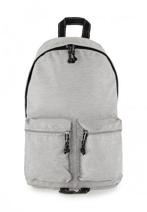 Рюкзак Topman. Цвет: серый