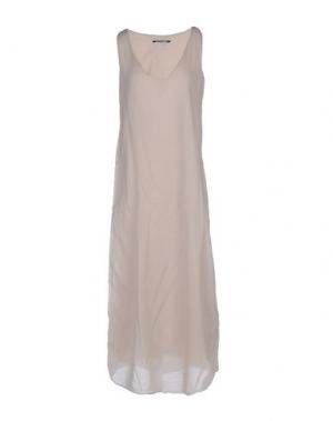 Длинное платье EUROPEAN CULTURE. Цвет: бежевый