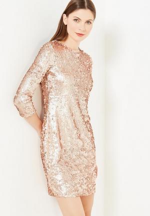 Платье Modis. Цвет: золотой