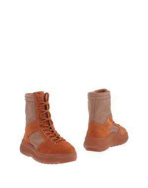 Полусапоги и высокие ботинки SEASON 3. Цвет: оранжевый