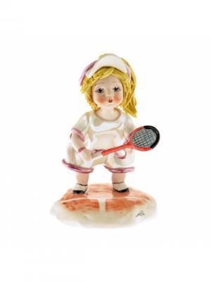 Статуэтка Теннисистка Zampiva. Цвет: белый, желтый, красный
