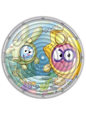 Двухсторонний Лабиринт Смешарики: Подводный мир Нордпласт.. Цвет: голубой, желтый, розовый