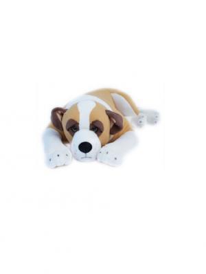 Мягкая игрушка Сенбернар лежащий средний Malvina. Цвет: бежевый