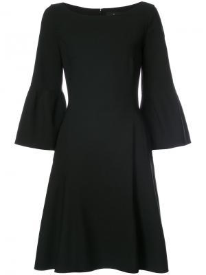 Платье с рукавами клеш J. Mendel. Цвет: чёрный