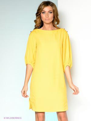 Платье ZARINA. Цвет: горчичный