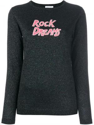 Свитер Rock Dreams Bella Freud. Цвет: чёрный