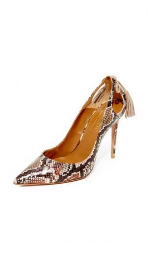 Туфли-лодочки Forever Marilyn Aquazzura. Цвет: разноцветный принт
