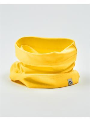 Снуд одинарный BODO. Цвет: желтый