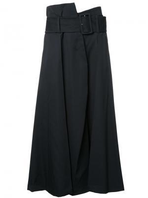 Широкие брюки Taro Horiuchi. Цвет: чёрный