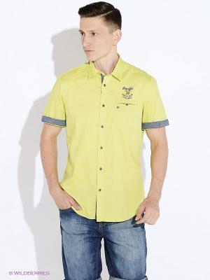 Рубашка LERROS. Цвет: салатовый