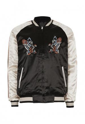 Куртка Topman. Цвет: разноцветный