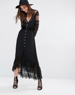 Jens Pirate Booty Платье Riverwalk. Цвет: черный