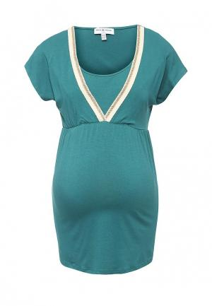 Блуза Envie de Fraise. Цвет: зеленый