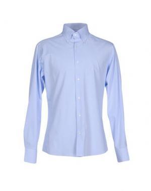 Pубашка MASSIMO BRUNELLI. Цвет: небесно-голубой