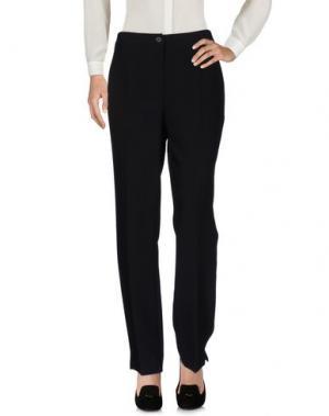 Повседневные брюки PAOLA ROSSINI. Цвет: черный
